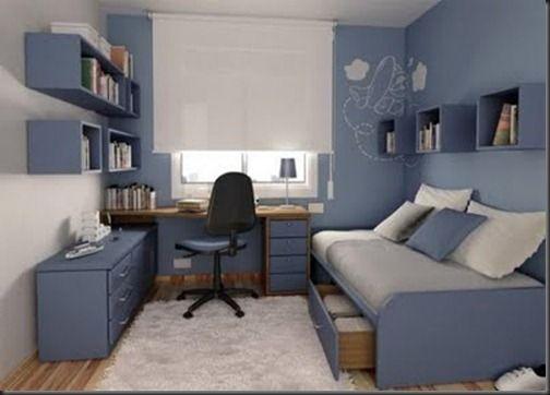 Room decor for men #room Room Ideas Pinterest Dormitorio - Decoracion De Recamaras Para Jovenes Hombres