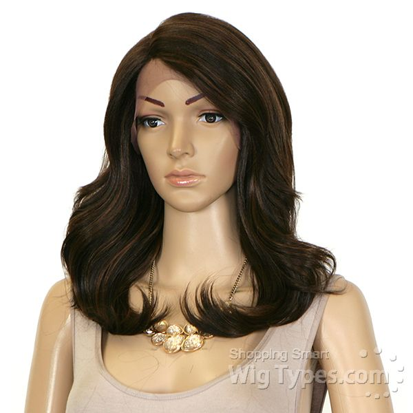 Zury Sis Glam Synthetic Hair Lace Front Wig - GLAM LACE H ARGAN - WigTypes.com