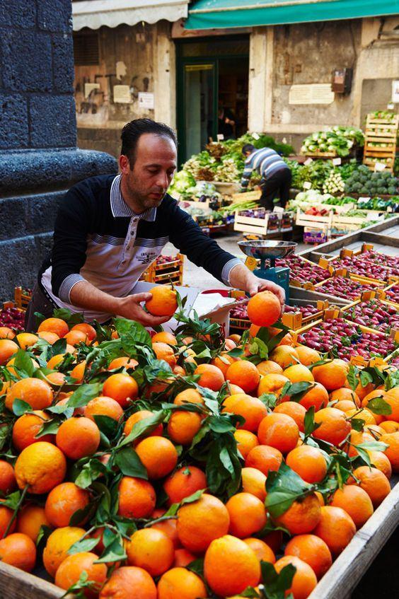 The Making of Sicilian Citrus Catania, Sicily italy, Italy
