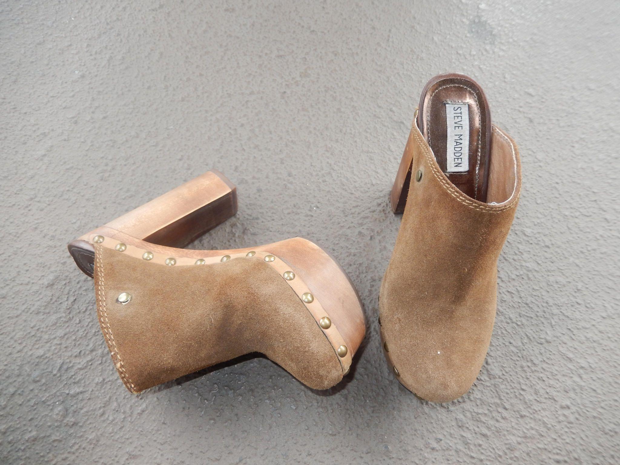 abajo curva camarera  Steve Madden Clogs | Heels, Clogs, Swedish clogs