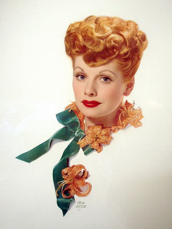 Lucille Ball by Paul Hesse #lucilleball