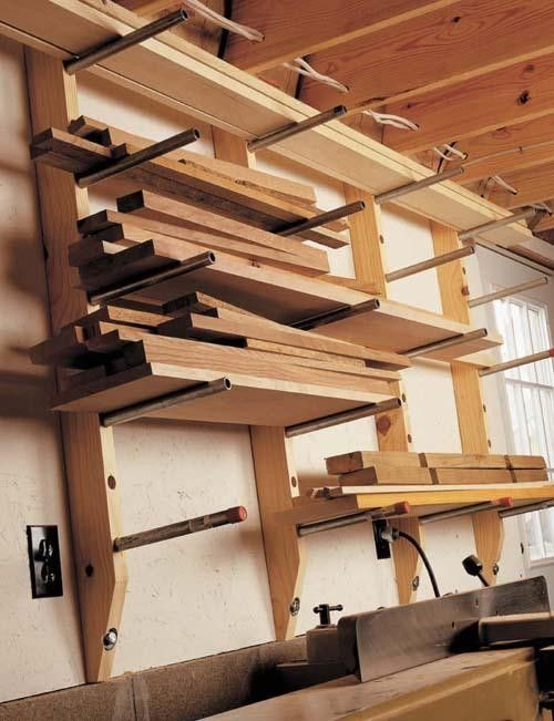 30 Lumber Storage Rack Design Studio Workshop