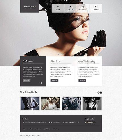 Centuryst Photo Website Template Website Design Services Website Design Great Website Design