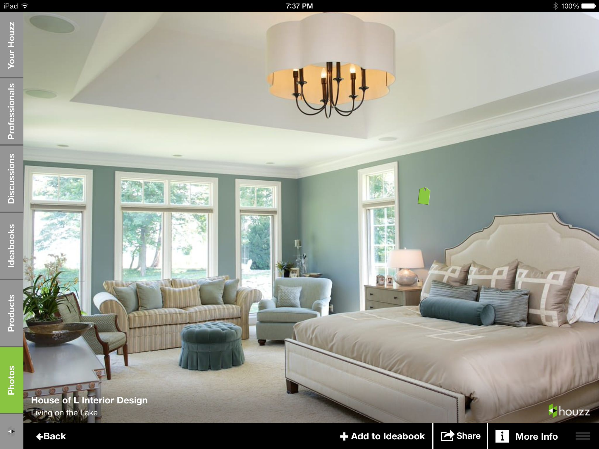 Master bedroom green paint ideas  Paint color  decorating  Pinterest  Bedrooms Master bedroom and