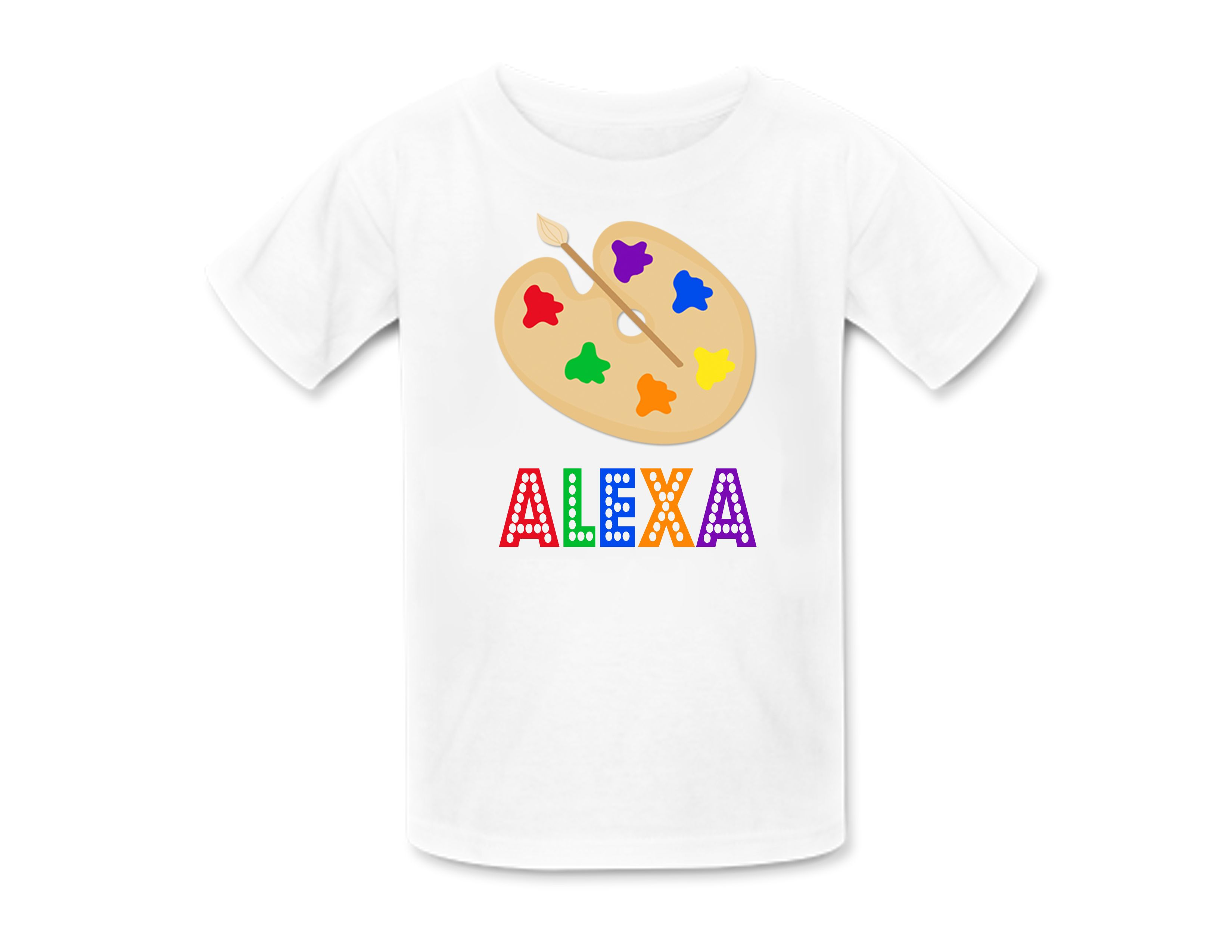 Glitter Force Shirt Custom Name and Age  T-shirt  Personalized Birthday Shirt