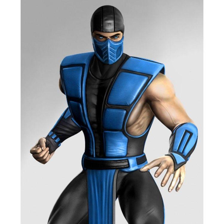 Sub Zero Mortal Kombat Leather Vest Men S Leather Vest Ujackets Com Sub Zero Mortal Kombat Leather Vest Mens Leather Vest