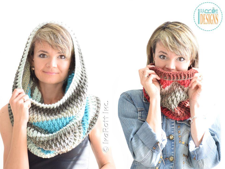 Cake Craze Chunky Cowl PDF Crochet Pattern | crochet