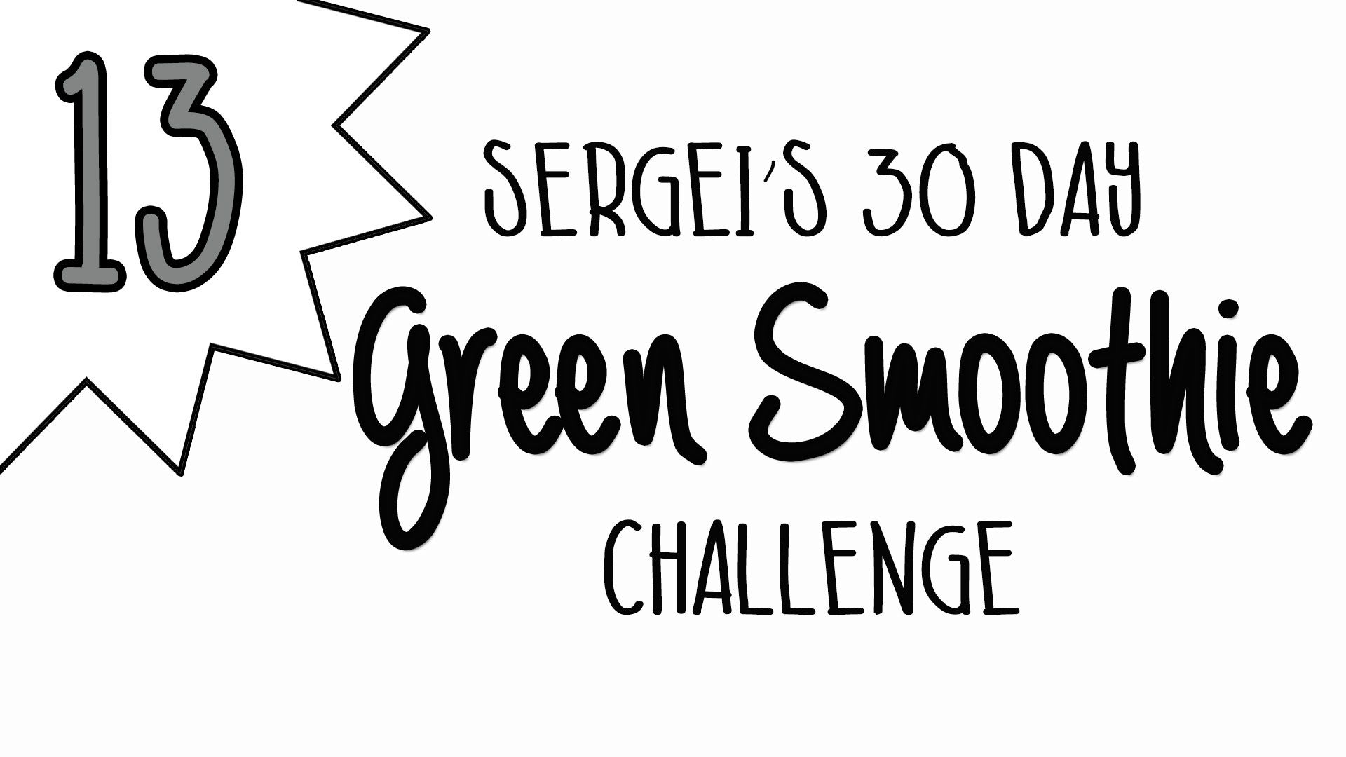 Green Smoothie Challenge Day 13 (featuring wheatgrass) #