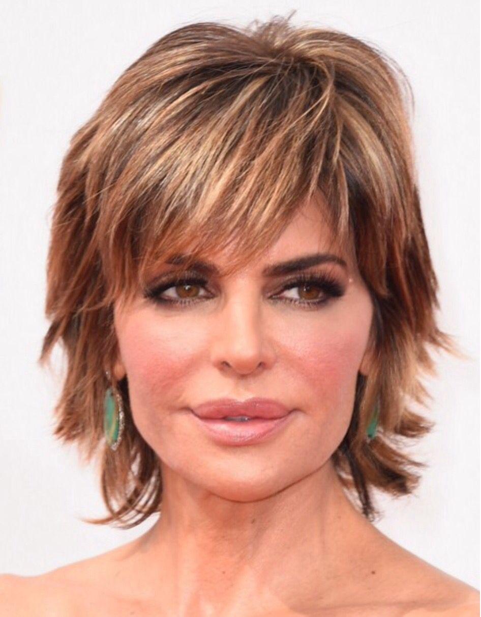 Lisa Rinner Great Colour Hair Pinterest Lisa Short Hairstyle