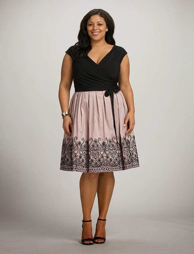 Fotos de vestidos ala moda para gorditas