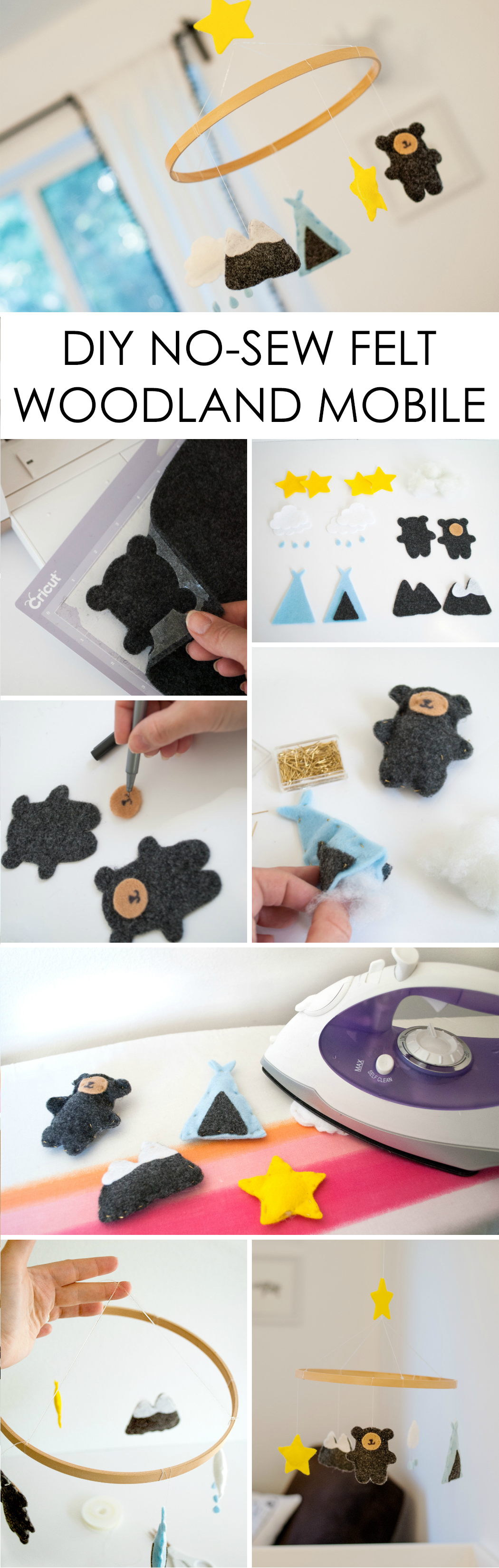 DIY Baby Gym Tutorial with Free Printables | Diy baby, Handmade ...