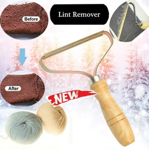 For Sweater Power-Free Lint Remover Clothes Fuzz Fabric Shaver Brush Tool