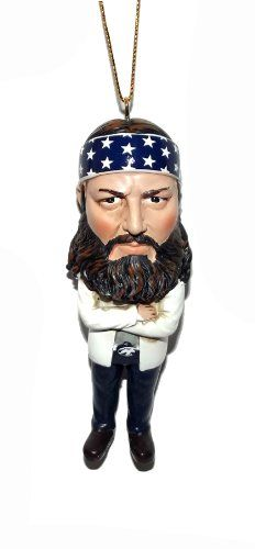 Duck Dynasty Christmas Ornaments - This one is of the Boss himself ...
