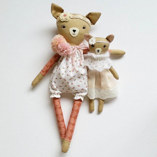 deer stuffys.   Dolls   Pinterest   Muñecas, Trapillo y Muneca de trapo