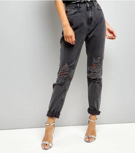 Femmes Highwaisted Déchiré Jeans Skinny Nouveau Look Haut ZCtu2XcS