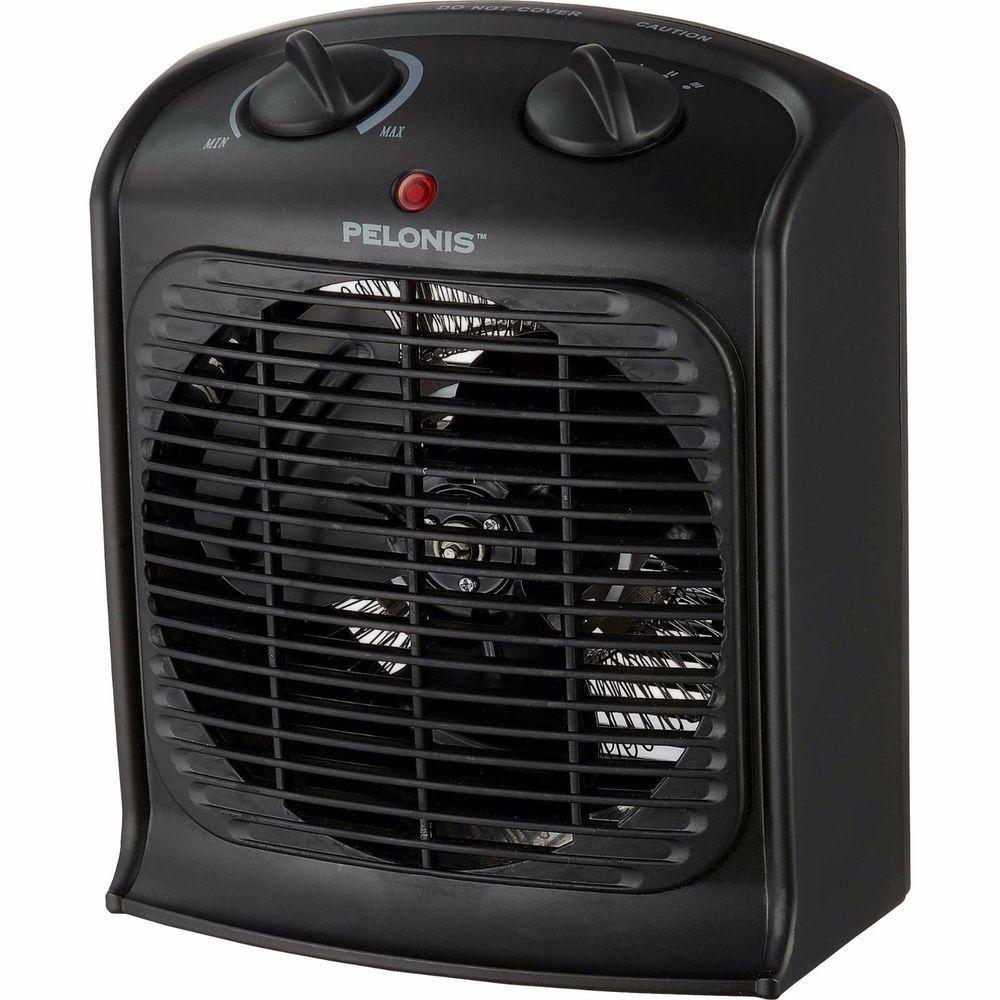 Portable Electric Fan Heater 3 Adjustable Fan Speeds