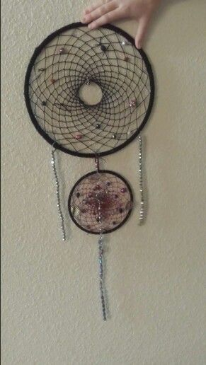 Dream Catcher Without Feathers My dream catcher without feathers dream catchers Pinterest 2