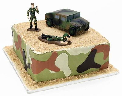 Army Theme Cake Themed Cakes Pinterest Cake Army cake and