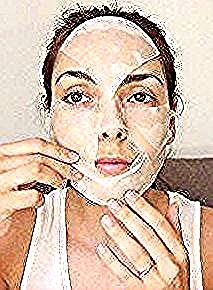 Photo of Beauty masks, face and eyes, in DIY fabric – S …