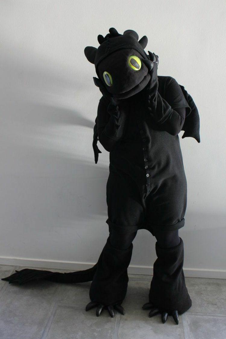 ohnezahn-kostüm-selber-machen-tipps-tricks-schwarzer-hosenanzug #howtodisguiseyourself ohnezahn-kostüm-selber-machen-tipps-tricks-schwarzer-hosenanzug #howtodisguiseyourself