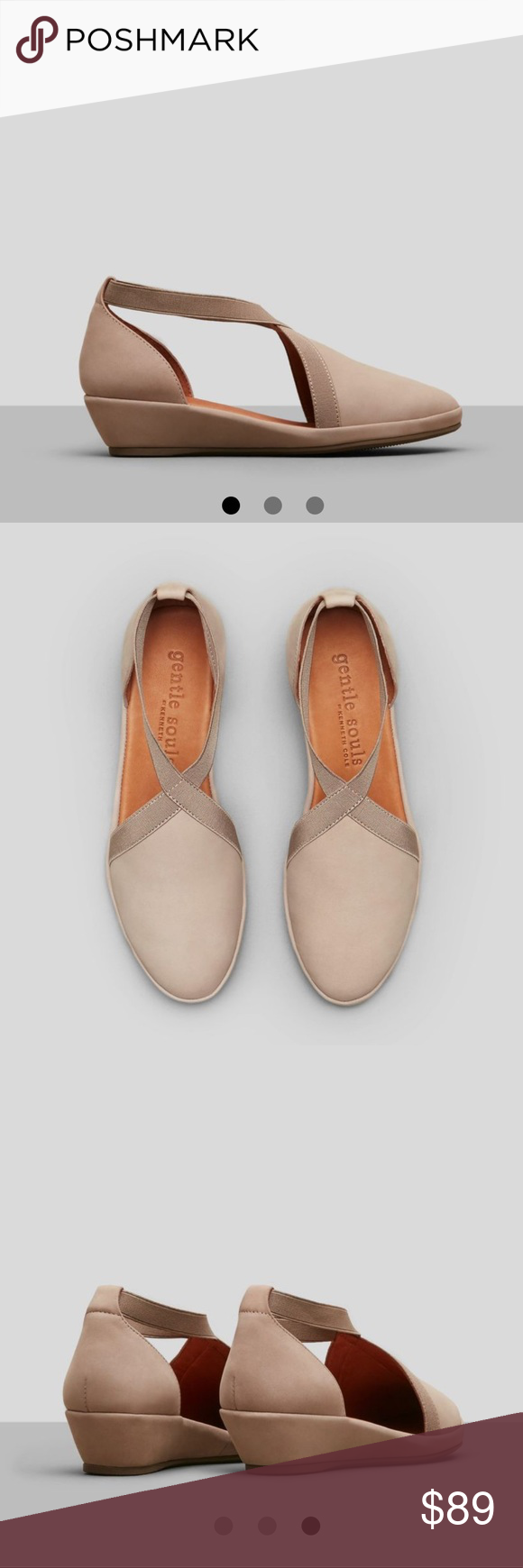 dfb73fa1d5e3 Kenneth Cole Gentle Soul Natalia Slip-on Low Wedge Kenneth Cole Gentle Soul  Natalia Slip