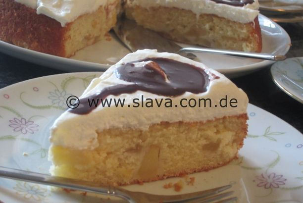 Fanta – Bratapfel – Torte – Kuchen