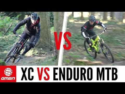 Cross Country Vs Enduro Mountain Bike Race Mountain Bike Races