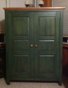 Ethan Allen Country Colors Tv Cabinet