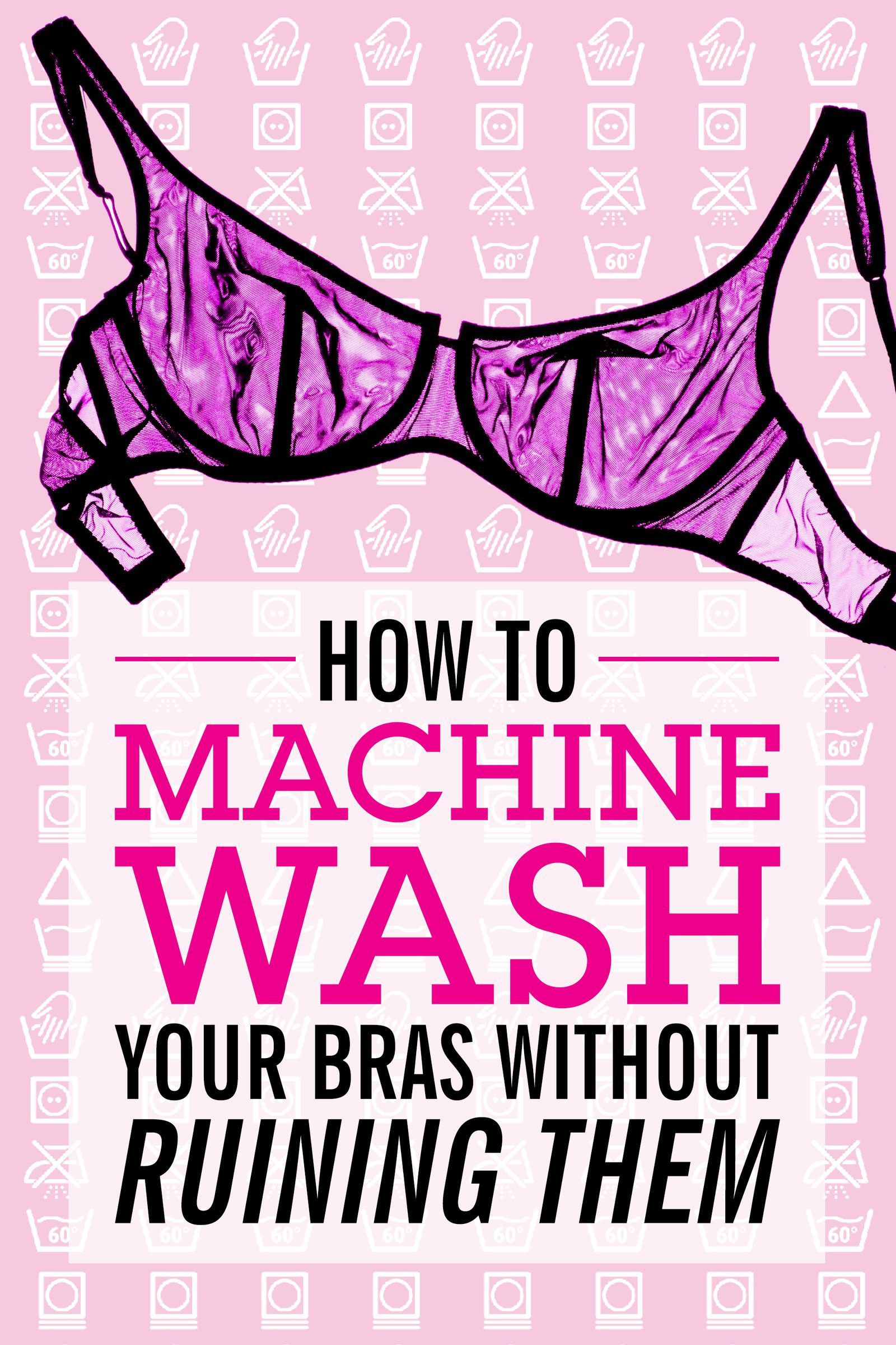 Everything You Need to Know About Washing Your Bras