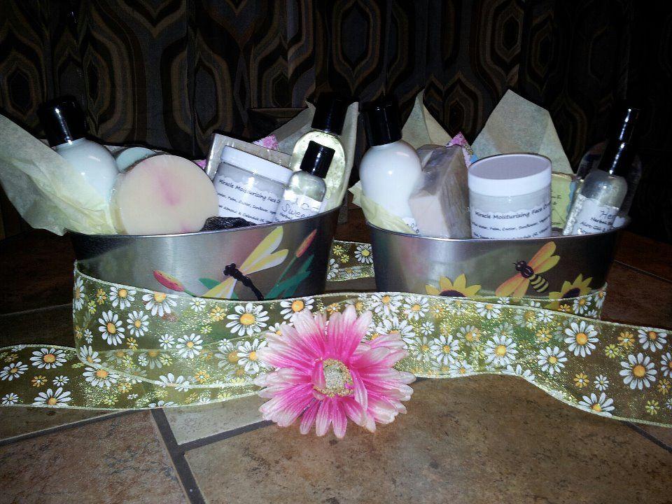 Gift baskets Lip conditioner, Eye makeup remover, Face cream
