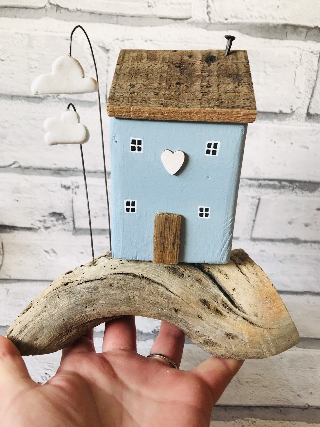 Photo of Driftwood Sculpture • Coastal Art • Driftwood Art • Home Decor • Shed Load Of Krafts • Beach • Beach Decor • Driftwood Cottage
