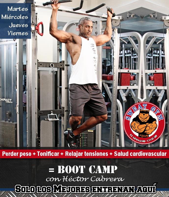 #BootCamp en #SweatGym tiene nombre y apellido Héctor Cabrera #Salud #Nutrición #Cardio #Musculacion #Culturismo #Fitness #Gym #ComeSano #SweatGym #SoySweatGym #TerritorioSweatGym #MrSweat #SweatGymxVenezuela #ejercicio #fisicoculturismo