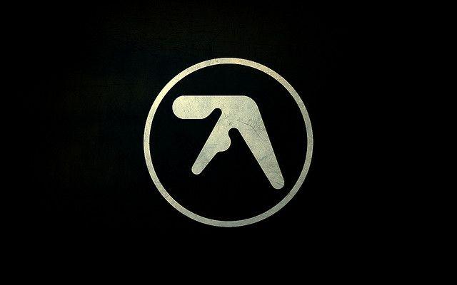 Textured Aphex Twin Logo Widescreen Desktop Wallpaper 1680x1050 Aphex Twin Music Logo Dj Logo
