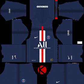 Paris Saint Germain Psg 2019 2020 Kit Dream League Soccer Kits In 2020 Paris Saint Germain Soccer Kits Paris Saint