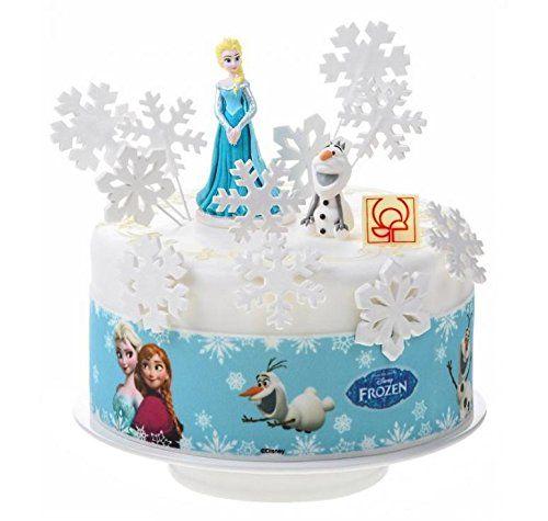 Kit decor gateau la reine des neiges