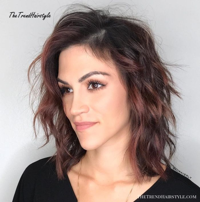 Photo of Medium Shaggy Hairstyle