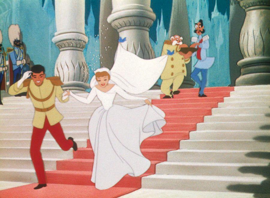 cinderella wedding dress cartoon