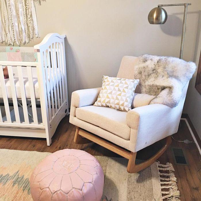Baby Girl Nursery By Wayfair At Home This Sweet Nursery Is