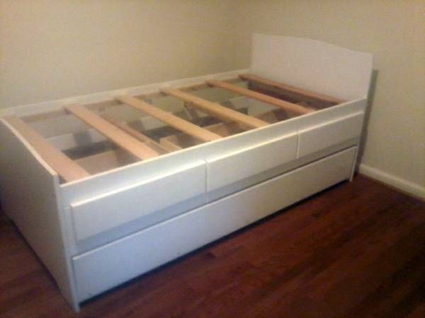 Childrens Animals Storage Box Chest 3 Kids Drawer Bedroom: Brand New Solid Wood Storage Bed Built Right In My Own