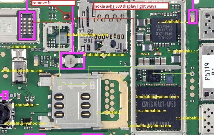 Trick Jumper Led Lcd Nokia asha 300 lcd light solution | China