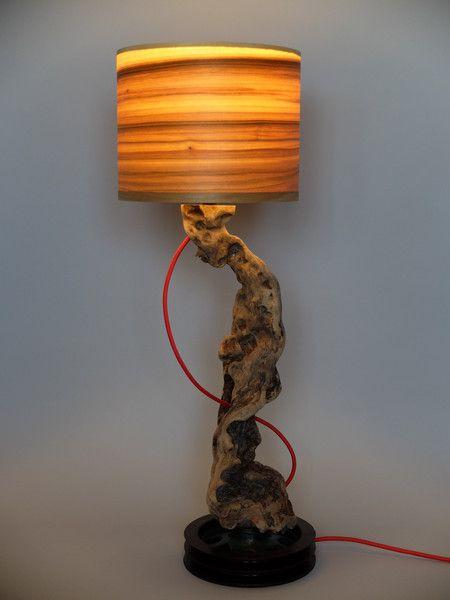 Tischlampen - Tischlampe Caliga - Upcycling von LuxUnica - ein Designerstück von LuxUnica bei DaWanda