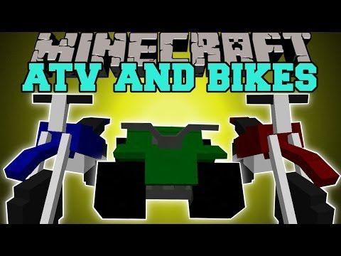 Minecraft Dirt Bikes Atv Epic New Travel Methods Mod Showcase New Travel Atv Minecraft