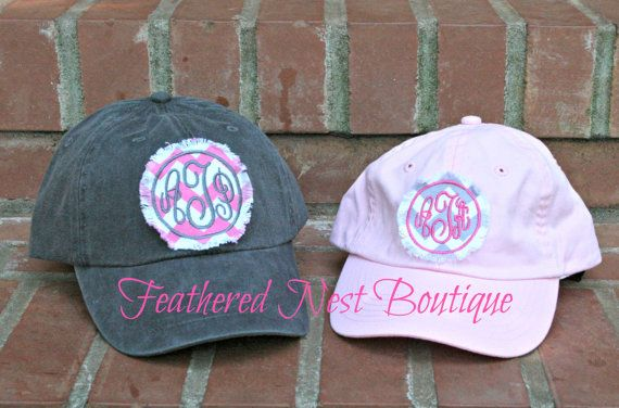 8e4f3ae9ec7 Mommy   Me Monogrammed Patch Hats from Feathered Nest Boutique Youth sizes