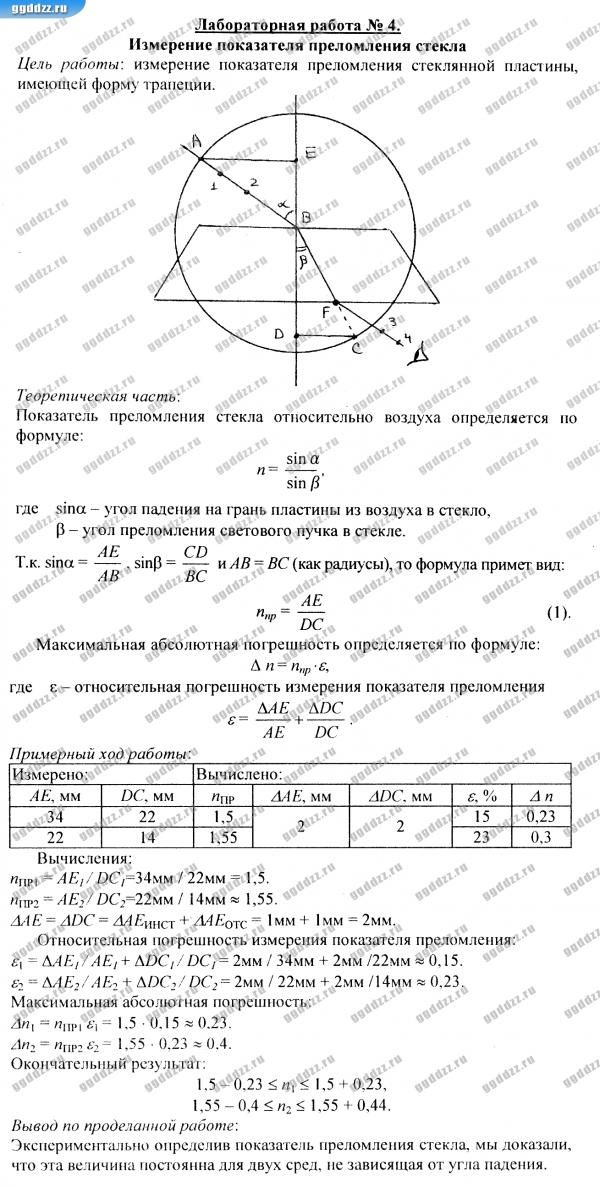 Спиши ру по физике 11 класс тихомирова