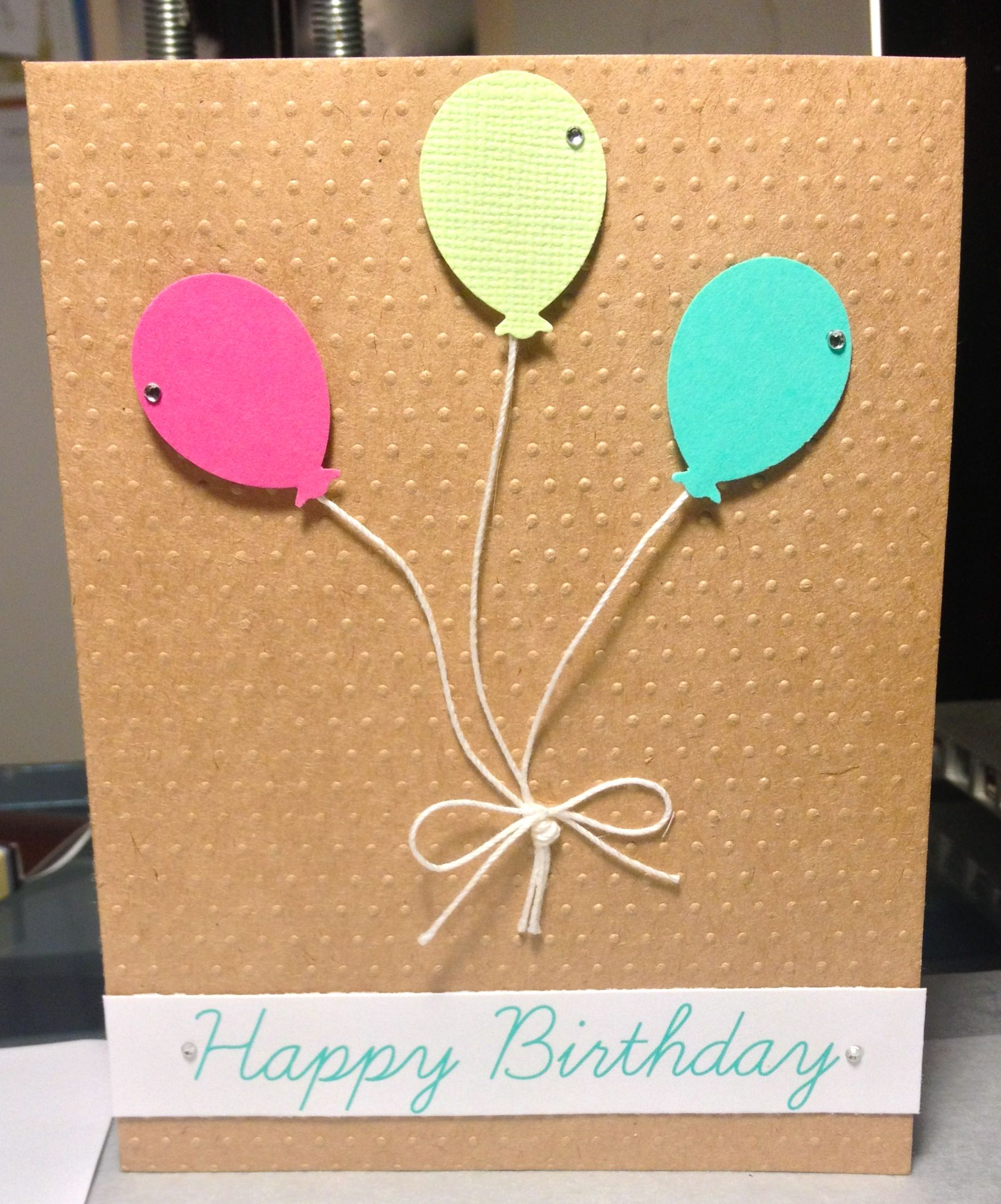 Handmade Birthday Card By Sonya Fedele Card Ideas Pinterest