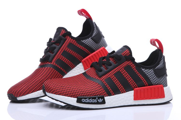 9158be8ede75 Adidas Originals NMD Runner Primeknit Women Running Shoes red ...