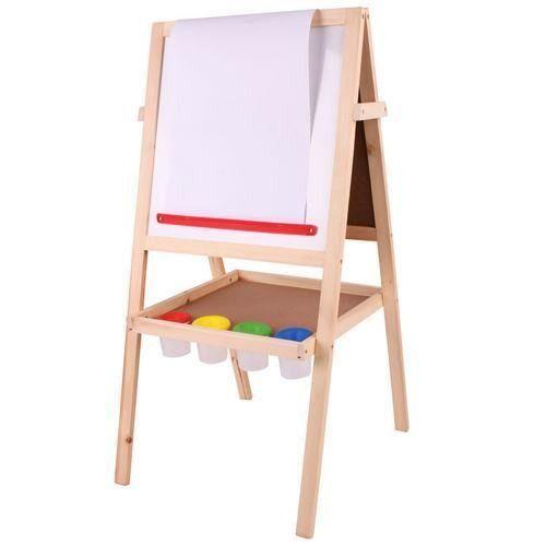 Bigjigs Wooden Blackboard/Whiteboard Easel