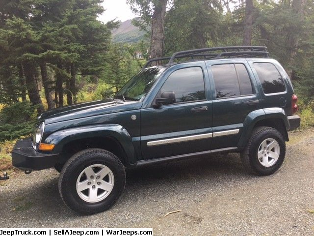 2005 Jeep Liberty Crd Limited 7