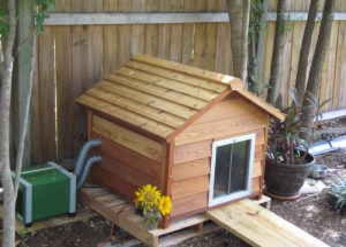 Image Detail For Dog House Ac Heating Insulated 900 For Sale