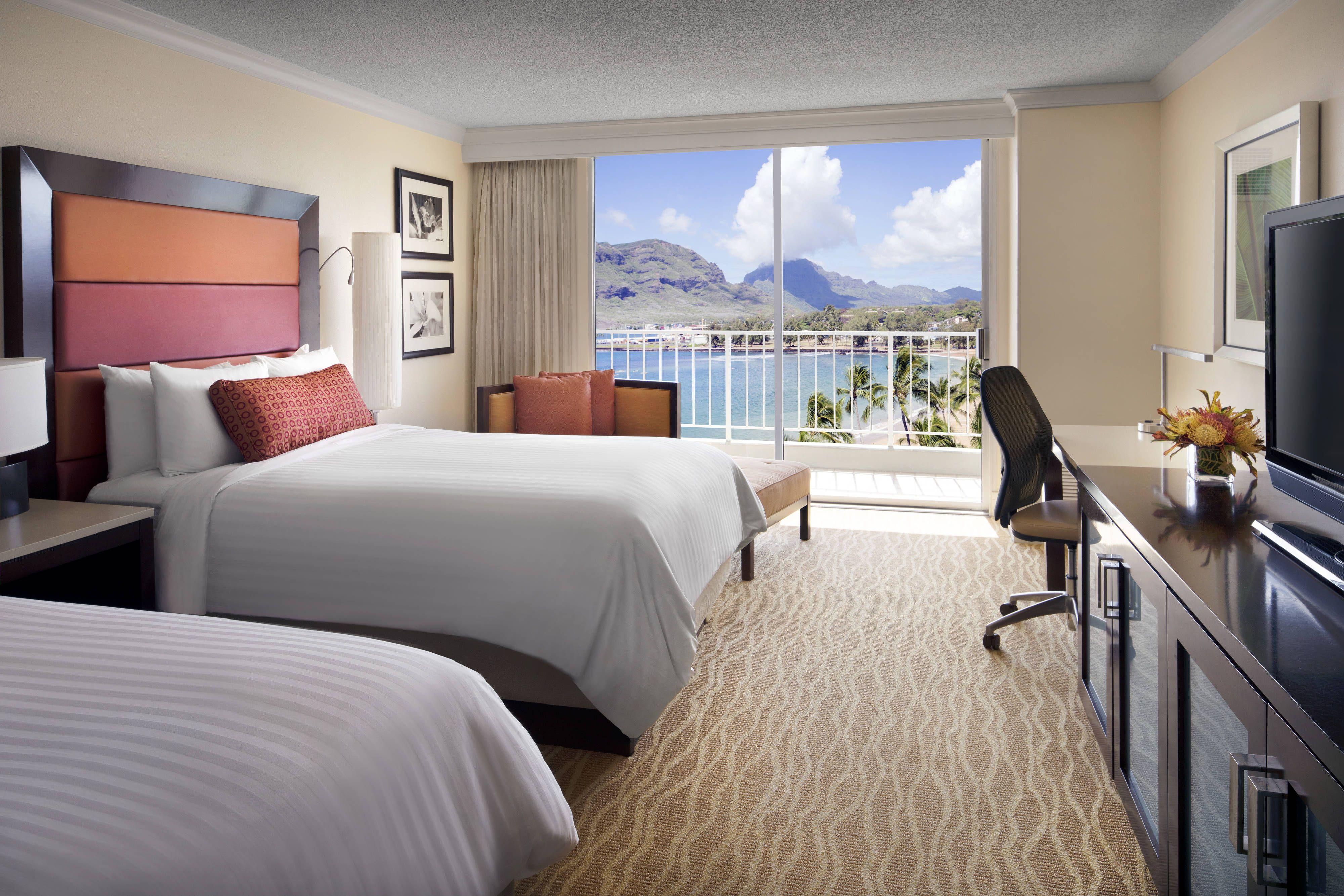 Kaua I Marriott Resort Double Double Ocean View Guest Room Hotels